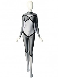 Newest Grery Spider-woman Spandex Superhero Costume
