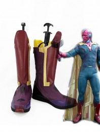 Avengers Vision Film Version Cosplay Boots