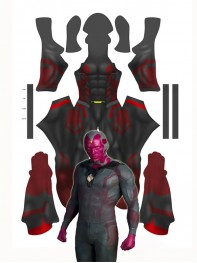 Vision Avengers: Age of Ultron 3D Printing Superhero Costume