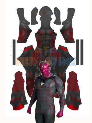 Vision Avengers: Age of Ultron 3D Printing Superhero Costume