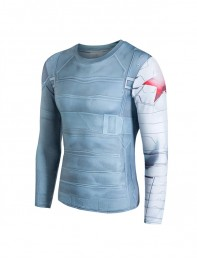 Winter Soldier 3D Patterns Mens Superhero Quick Dry Sports