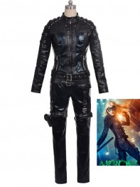 Arrow Black Canary Laurel Deluxe Cosplay Costume
