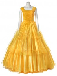 Beauty and the Beast Belle Girls Cosplay Costume