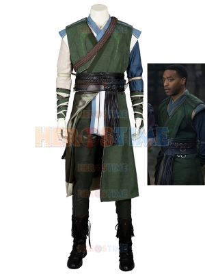 Deluxe Mens Doctor Strange Superhero Cosplay Costume