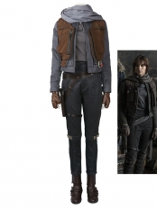 Deluxe Rogue One: A Star Wars Story Jyn Erso Cosplay Costume