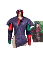 Girls Deluxe Descendants Mal Cospaly Costume