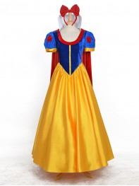 Snow White Disney Princess Girls Cosplay Costume