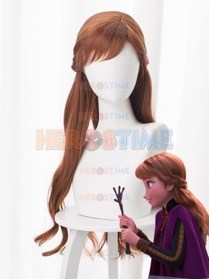 Frozen 2 Anna Cosplay Wig
