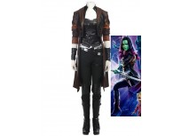 2017 Guardians of the Galaxy 2 Gamora Cosplay Costume