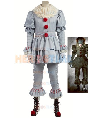 It: Part 1-The Losers' Club Pennywise Cosplay Costume