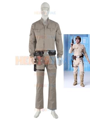 Star Wars Deluxe Luke Skywalker Adult Cosplay Costume