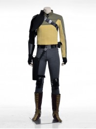 Star Wars Rebels Animation Adult Kanan Jarrus Cosplay Costume
