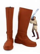 Star Wars Jedi Knight Obi-Wan Kenobi Cosplay Boots