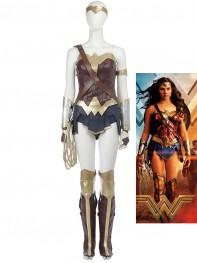 Upgraded Design 2017 Film Wonder Woman Cosplay Costume