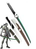Overwatch Genji Shimada Wooden Sabre Cosplay Swords