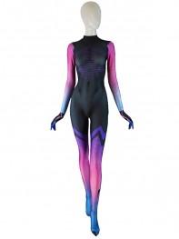 Sombra Costume Overwatch Undersuit Girl Cosplay Sombra Suit