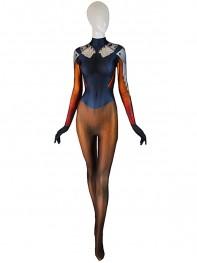 Mercy Costume Overwatch Mercy Undersuit Girl Cosplay Suit