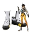 Overwatch Tracer Game Character White Cosplay Boots