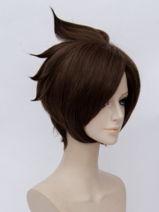 Overwatch Tracer Lena Oxton Cosplay Wig