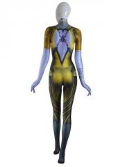 Overwatch Widowmaker Costume Patina Skin Cosplay Suit