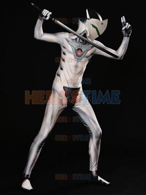 Overwatch Genji Nihon Costume White Nihon Skin Cosplay Suit