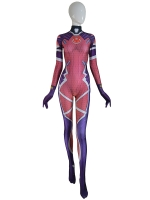 D.VA Overwatch White Rabbit Costume Game Girl Cosplay Suit