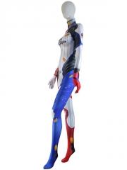 Harley D.VA Costume Overwatch D.Va Mixed Harley Skin Cosplay Suit