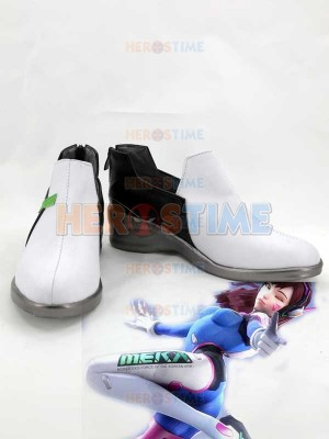 Shooting Game Overwatch D.Va Cosplay Boots