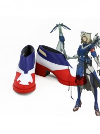 Overwatch Mercy Shose Mercy Skin Cosplay Boots
