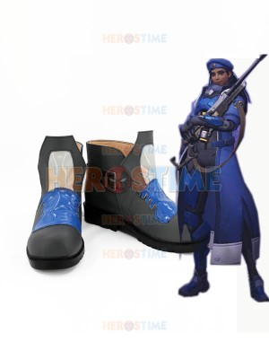 Overwatch Cosplay Costume Overwatch Ana Cosplay Boots