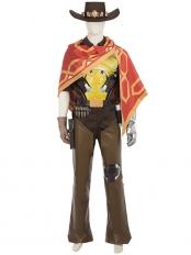 Overwatch McCree Deluxe Cosplay Costume