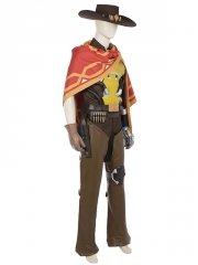 Overwatch McCree Deluxe Cosplay Costume
