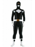 Black Zyuranger Power Ranger Spandex Superhero Costume