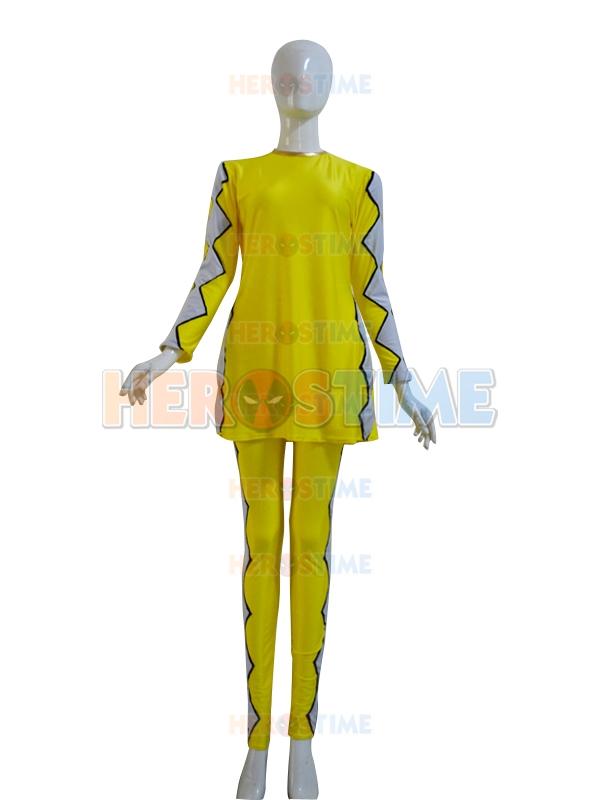 Power Rangers Yellow Girl Yellow Ranger Power Ranger