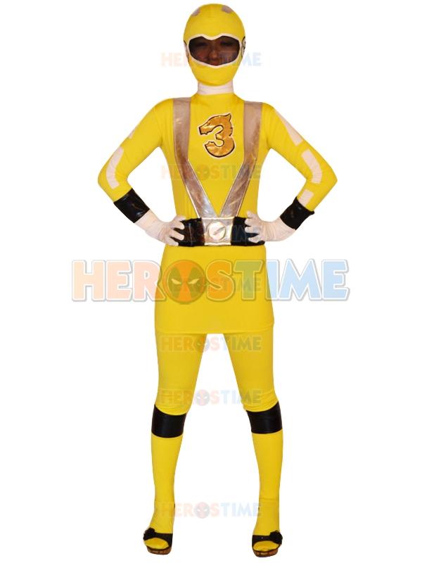 Power Rangers Yellow Girl Go-on Yellow Power Ranger