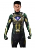 Power Ranger Cosplay Suit Movie Green Ranger Costume