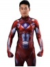 Red Power Ranger Cosplay Suit Movie Power Ranger Costume