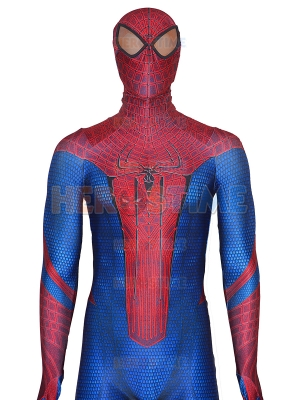 The Amazing Spider-Man Costume With Puff Paint