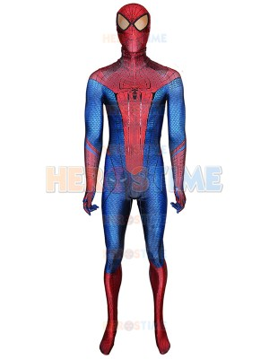 The Amazing Spider-Man With Puff Paint Webbing & Spider