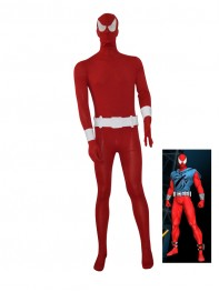 2015 Scarlet Spider Red Spider-man Superhero Costume
