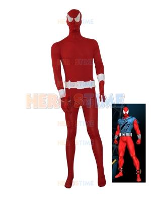 2015 Scarlet Spider Red Spider-man Superhero Costume
