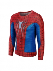 3D Heroes The Amazing Spider-man Running Slim Fit Sport Quick Dry T-Shirts