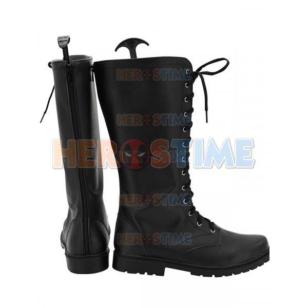 1cfe37a1842 Spider-Man Noir Halloween Cosplay Boots