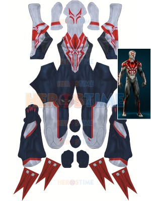All New Spider-man 2099 Suit Spider-Man PS4 Games Costume