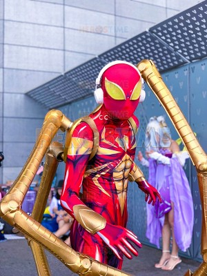 Iron Spider Costume Spider-Man PS4 Halloween Costume