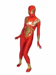 Iron Spider Armor Spandex Superhero Costume