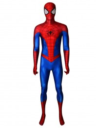 Spider-Man Costume PS4 Classic Spider-Man Cosplay Suit