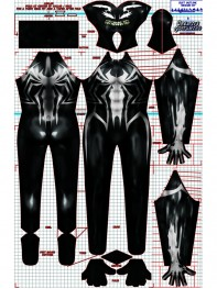 Venom Suit Lee Price Venom Spider Spandex Cosplay Costume