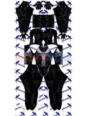 The Amazing Spider-man Venom V3 Spandex Cosplay Costume