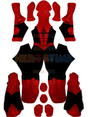 Vintage Comic Book Suit Spider-Man PS4 Cosplay Costume